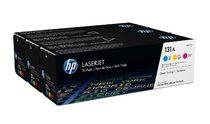 HP 131A 3-pack Cyan/Magenta/Yellow Original LaserJet Toner Cartridges