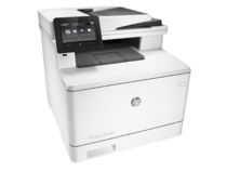 HP Color LaserJet Pro M477fdw Printer, right facing