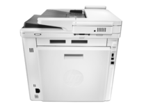 HP Color LaserJet Pro M477fdw Printer, rear facing