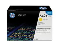 HP 642A Yellow Government LaserJet Toner Cartridge
