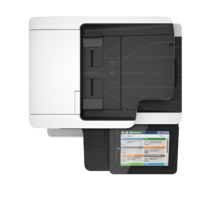 LaserJet Enterprise Flow MFP M527, Aerial/Top, no output