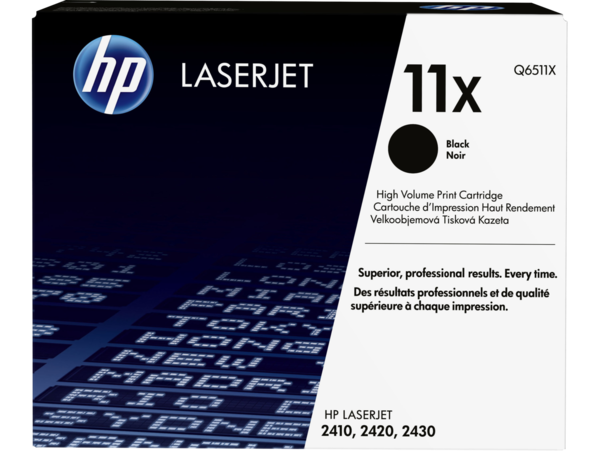 EMEA version - HP LaserJet 11X Black Print Cartridge