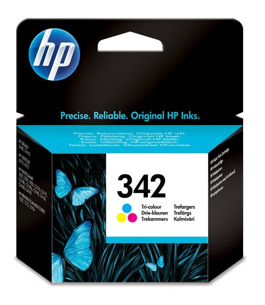 HP 342 Tri-color Inkjet Print Cartridge
