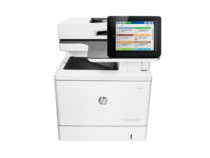 HP Color LaserJet Enterprise MFP M577f, center view