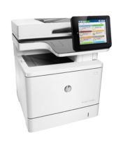 HP Color LaserJet Enterprise MFP M577f, right view