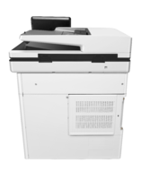 HP Color LaserJet Enterprise MFP M577f, rear view