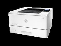 HP LaserJet Pro M402n, Left facing, no output