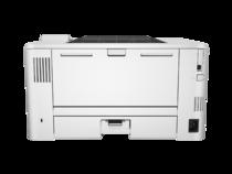 HP LaserJet Pro M402n, Back