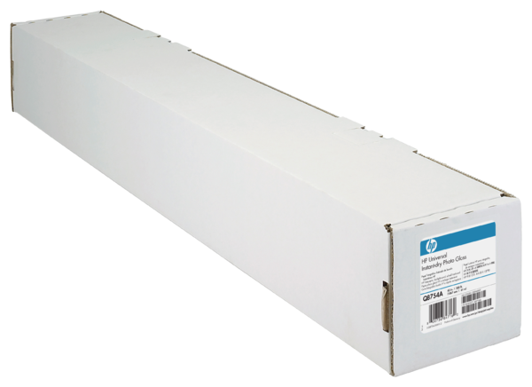 HP Universal Instant-dry Gloss Photo Paper-610 mm x 30.5 m (24 in x 100 ft)