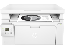 HP LaserJet Pro MFP M130a, Center, Front, with output