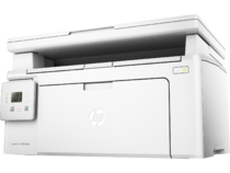 HP LaserJet Pro MFP M130a, Hero, Left facing, no output