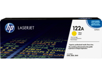 EMEA version - HP LaserJet 122A Yellow Print Cartridge