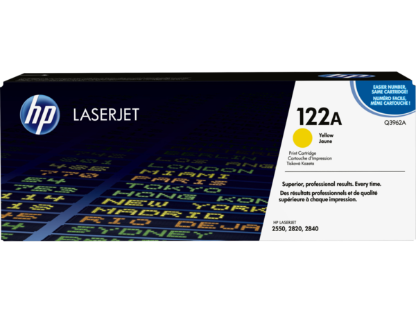 EMEA version - HP LaserJet 122A Yellow Print Cartridge