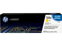 EMEA version - HP LaserJet 125A Yellow Print Cartridge