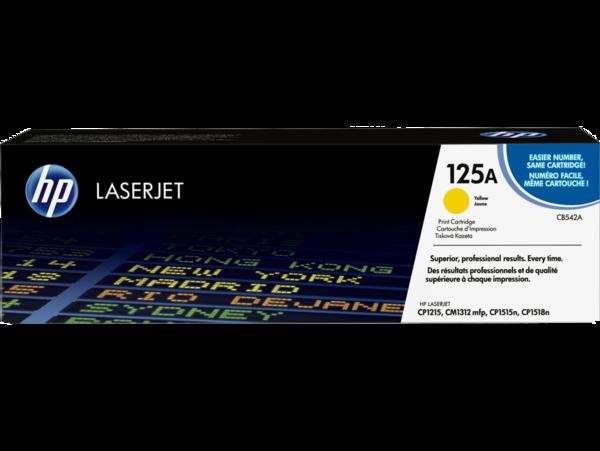 EMEA version - HP LaserJet 125A Yellow Print Cartridge