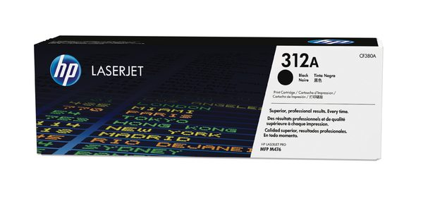 HP 312A Black Original LaserJet Toner Cartridge