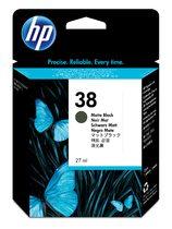 HP 38 Matte Black Pigment Ink Cartridge