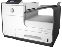 HP PageWide 352dw, Hero, with output