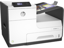 HP PageWide 352dw, Right, with output
