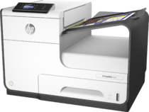 HP PageWide 352dw, Left, with output