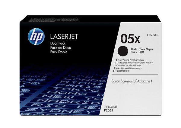 HP LaserJet CE505X Black Print Cartridge
