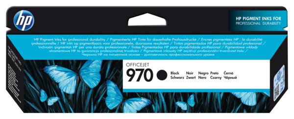 HP 970 Black Officejet Ink Cartridge