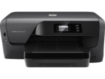 HP OfficeJet Pro 8210, Center, Front, no output