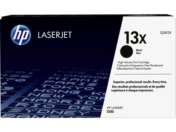 EMEA version - HP LaserJet 13X Black Print Cartridge