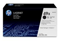 HP LaserJet Q5949XD Black Print Cartridge Dual Pack