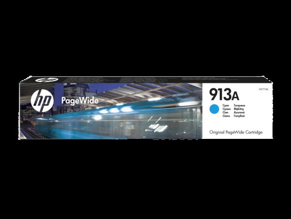 HP 913A Cyan Original PageWide Cartridge