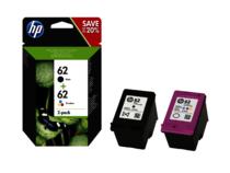 HP 62 Ink Cartridge Combo 2-Pack