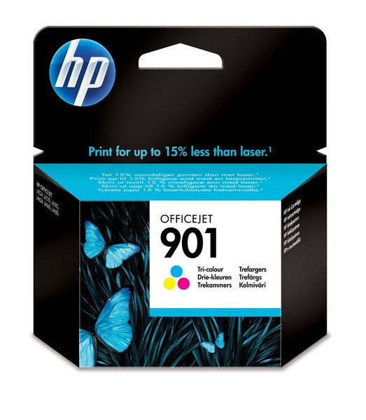 HP 901 Officejet Tri-color Ink Cartridge