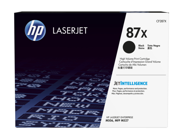 HP LaserJet CF287X Print Cartridge