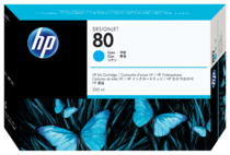 HP 80 350-ml Cyan Ink Cartridge