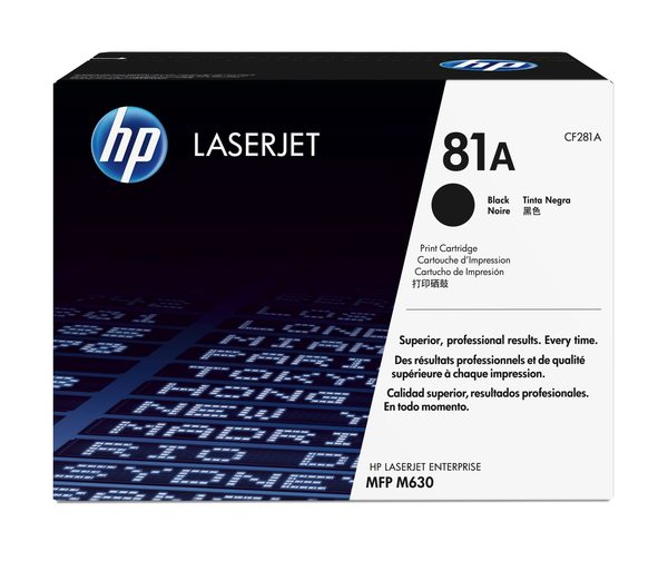 HP 81A Black Original LaserJet Toner Cartridge