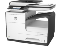 HP PageWide Pro 477dw MFP, Left facing, no output