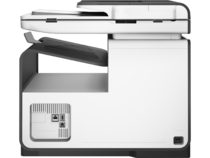 HP PageWide Pro 477dw MFP, Rear facing, no output