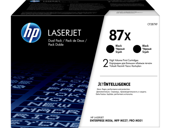 HP LaserJet Dual Pack Print Cartridge