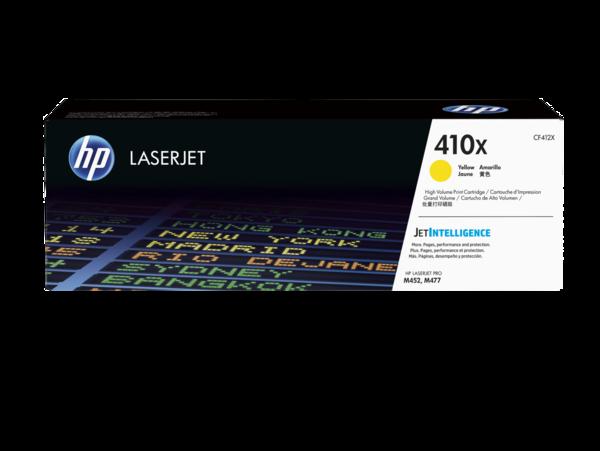HP LaserJet CF412X Yellow Print Cartridge