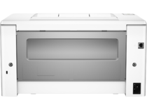 HP LaserJet Pro M102a, Back