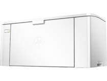 HP LaserJet Pro M102a, Hero, Left facing, no output