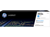 HP LaserJet Print Cartridge, 203A, Cyan