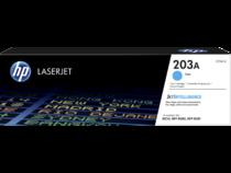 HP LaserJet Print Cartridge, 203A, Cyan