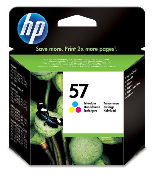 HP 57 Tri-color Inkjet Print Cartridge