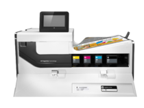 HP PageWide Enterprise Color 556dn printer, PageWide Technology, automatic duplexing, detail toner i