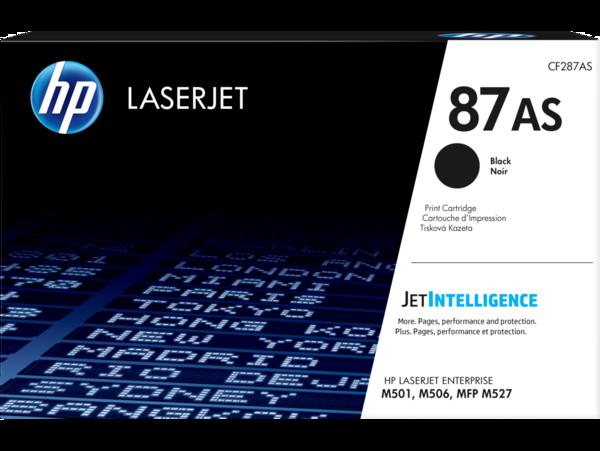 HP 87AS Black LaserJet Toner Cartridge EMEA