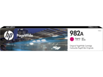 HP 982A PageWide Magenta Cartridge, WW