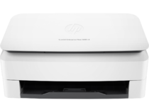HP ScanJet Enterprise Flow 5000 s4 sheet-feed Scanner, Center, Front, closed, no output