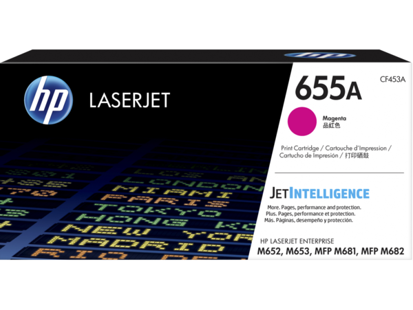 HP LaserJet Enterprise 655A Magenta Print Cartridge