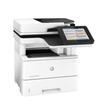 LaserJet Enterprise Flow MFP M527, Right facing, no output